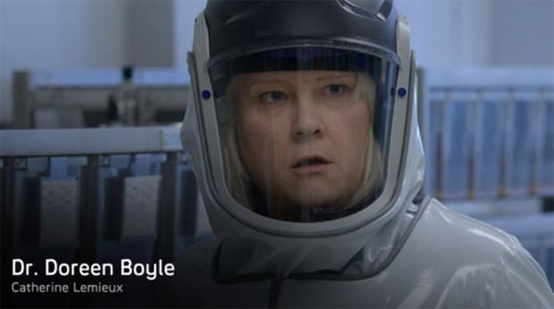 Dr. Doreen Boyle (Catherine Lemieux)