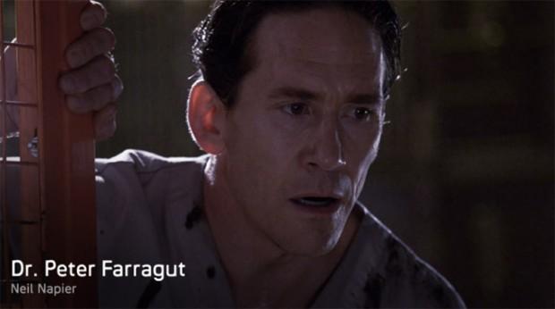 Dr. Peter Farragut (Neil Napier)