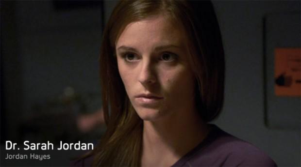 Dr. Sarah Jordan (Jordan Hayes)