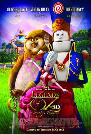 Legends of Oz Dorothy's Return Poster 01