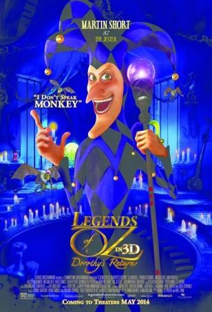 Legends of Oz Dorothy's Return Poster 02