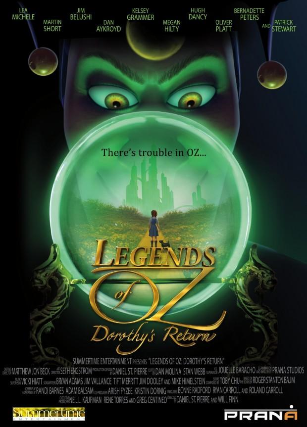 Legends of Oz Dorothy's Return Poster 05