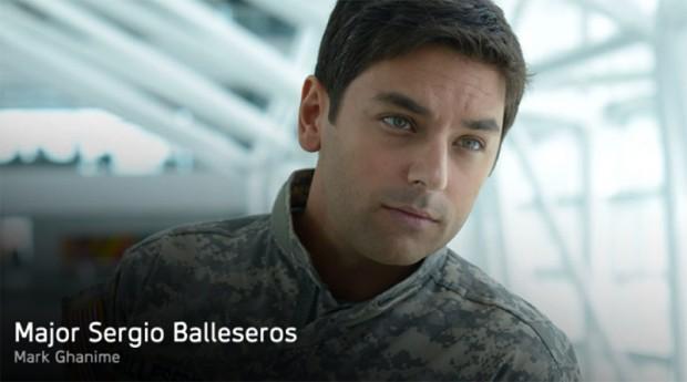 Major Sergio Balleseros (Mark Ghanime)