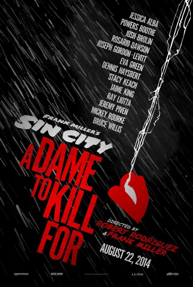 Sin City: A Dame to Kill For Teaser Poster