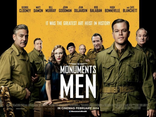 The Monuments Men One Sheet