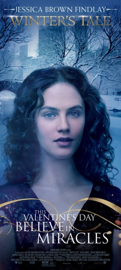 WINTER'S TALE Banner Jessica Brown Findlay