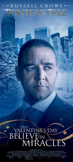 WINTER'S TALE Banner Russell Crowe