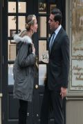 Cameron Diaz on the Set of ANNIE in New York City