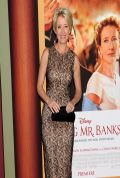 Emma Thompson Attends SAVING MR. BANKS Premiere in Los Angeles