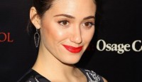 Emmy Rossum on Red Carpet - AUGUST OSAGE COUNTY Screening in Los Angeles