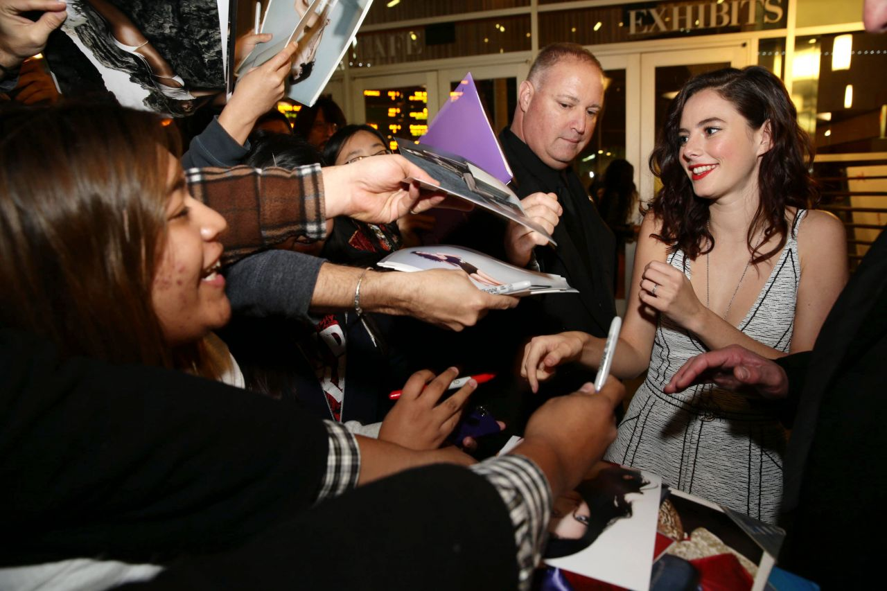 Kaya Scodelario at THE RTUTH ABOUT EMANUEL Movie Premiere in Hollywood
