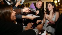 Kaya Scodelario at THE TRUTH ABOUT EMANUEL Movie Premiere