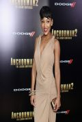 Meagan Good at ANCHORMAN 2: THE LEGEND CONTINUES Premiere in New York City