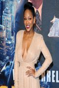 Meagan Good Attends ANCHORMAN: THE LEGEND CONTINUES Premiere in London