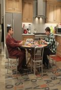 TWO AND A HALF MEN S11E11 Set Photos - December 2013