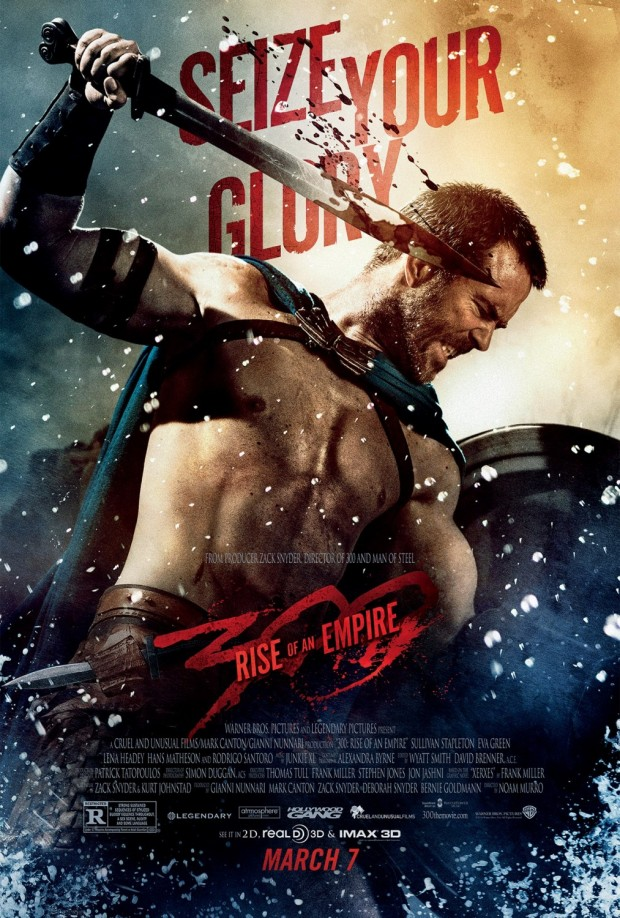 300 RISE OF AN EMPIRE Poster