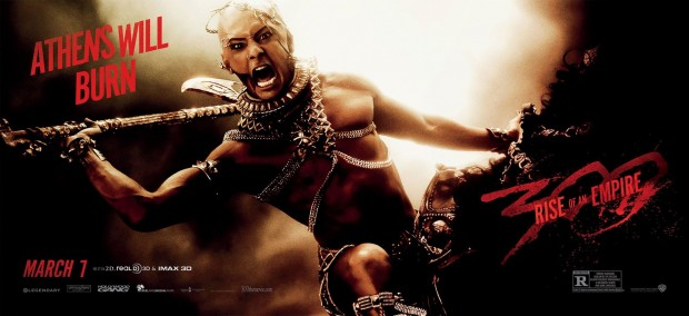 300 RISE OF AN EMPIRE Xerxes Banner