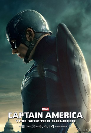 CAPTAIN AMERICA THE WINTER SOLDIER Poster 01