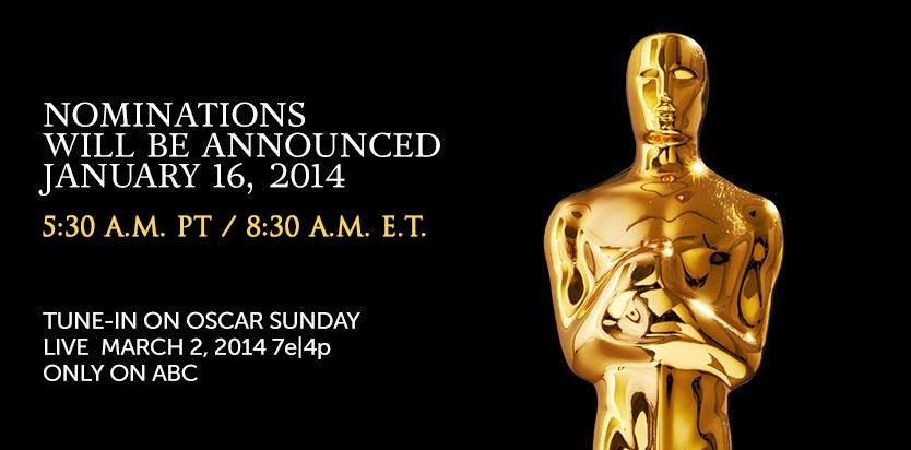 Oscar Nominations 2014 Live Video Stream