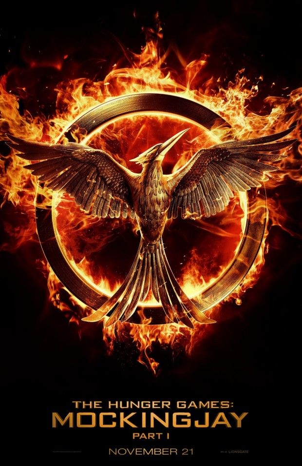 Teaser poster for the hunger games mockingjay – part 1