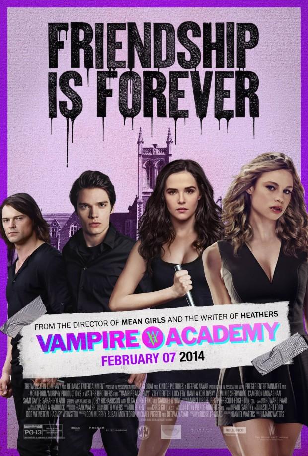 VAMPIRE ACADEMY Final Poster