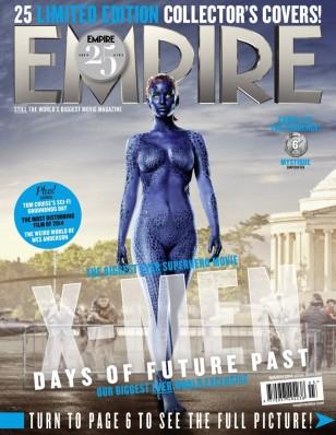 X-MEN DAYS OF FUTURE PAST Mystique Cover