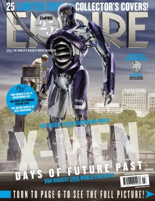X-MEN DAYS OF FUTURE PAST Sentinel Cover
