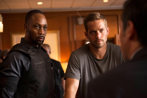 Paul Walker and RZA in Brick Mansions