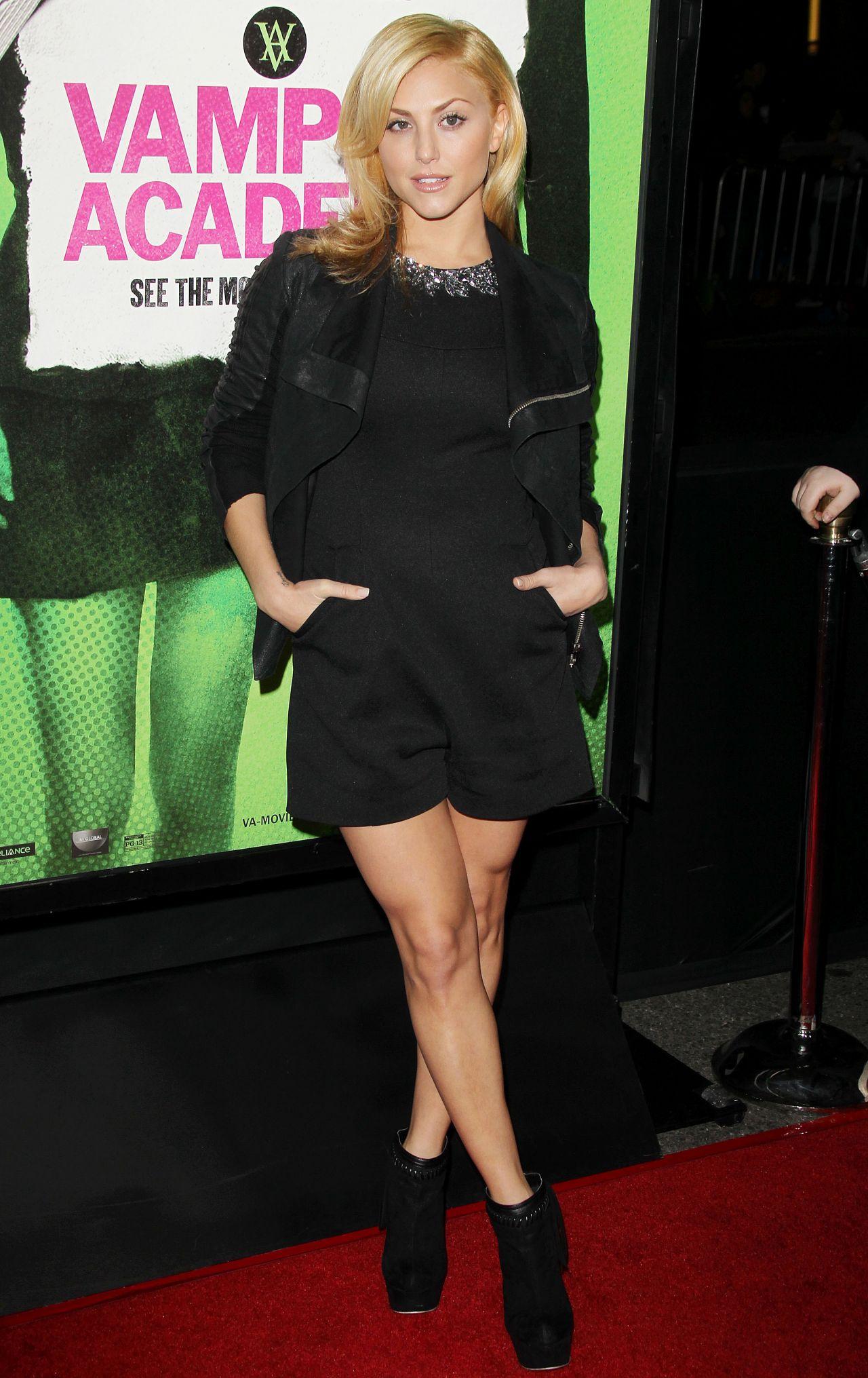 VAMPIRE ACADEMY Premiere in Los Angeles - Cassie Scerbo