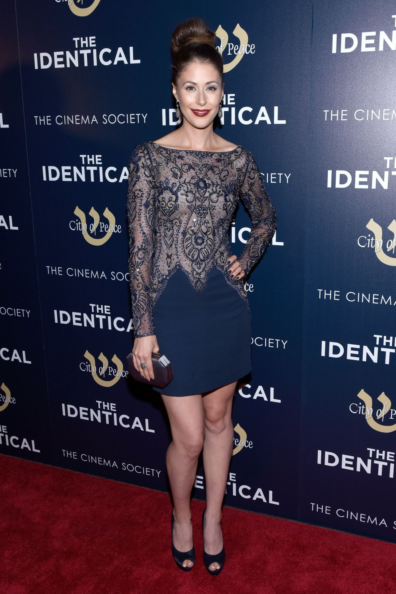 THE IDENTICAL New York Premiere - Amanda Crew